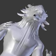 loup fenrir 3d model