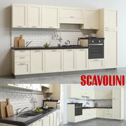 Scavolini Colony Kitchen 2 Formen 3d model