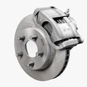 Автомобильный дисковый тормоз 3d model