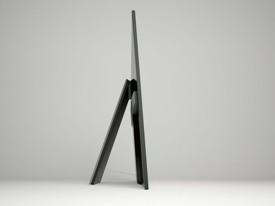 Sony Bravia OLED A1E royalty-free 3d model - Preview no. 3