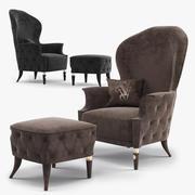 扶手椅Visionnaire Alice 3d model