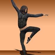 Tänzer 3d model
