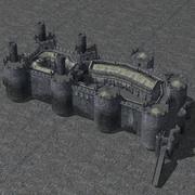 Castle Set 1 3d model