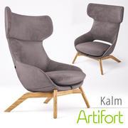 Armchair Artifort Kalm 3d model