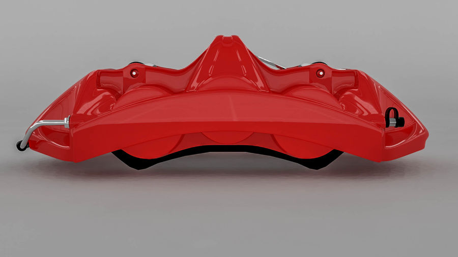 Brembo brake caliper royalty-free 3d model - Preview no. 12