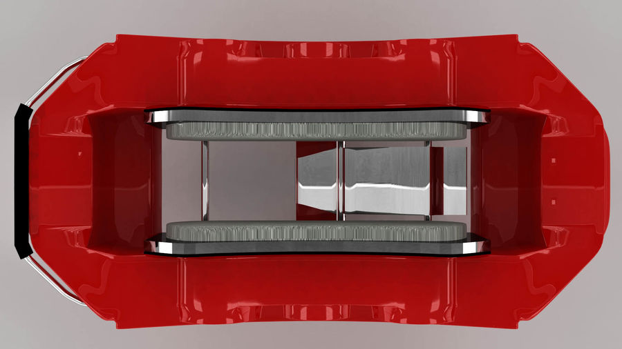 Brembo brake caliper royalty-free 3d model - Preview no. 5