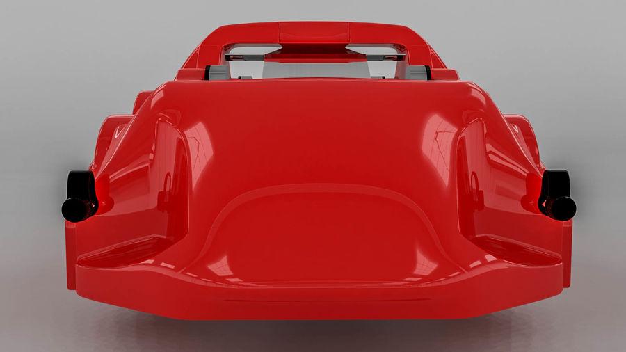 Brembo brake caliper royalty-free 3d model - Preview no. 10