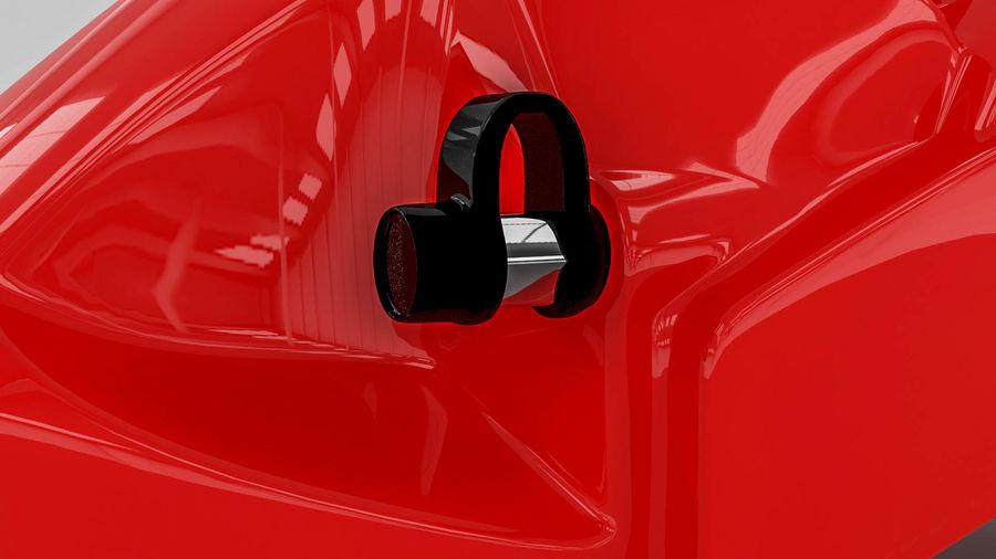 Brembo brake caliper royalty-free 3d model - Preview no. 9