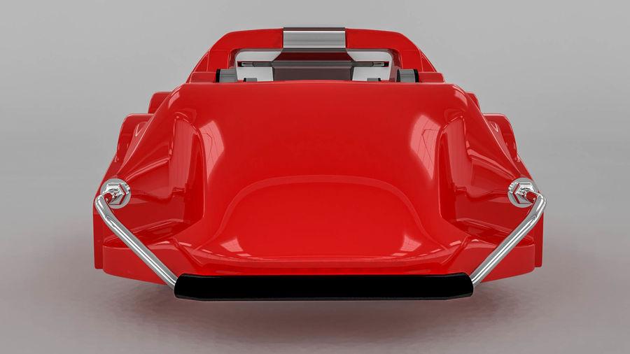 Brembo brake caliper royalty-free 3d model - Preview no. 3