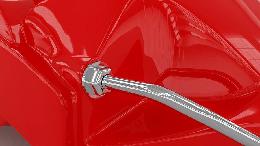 Brembo brake caliper royalty-free 3d model - Preview no. 7