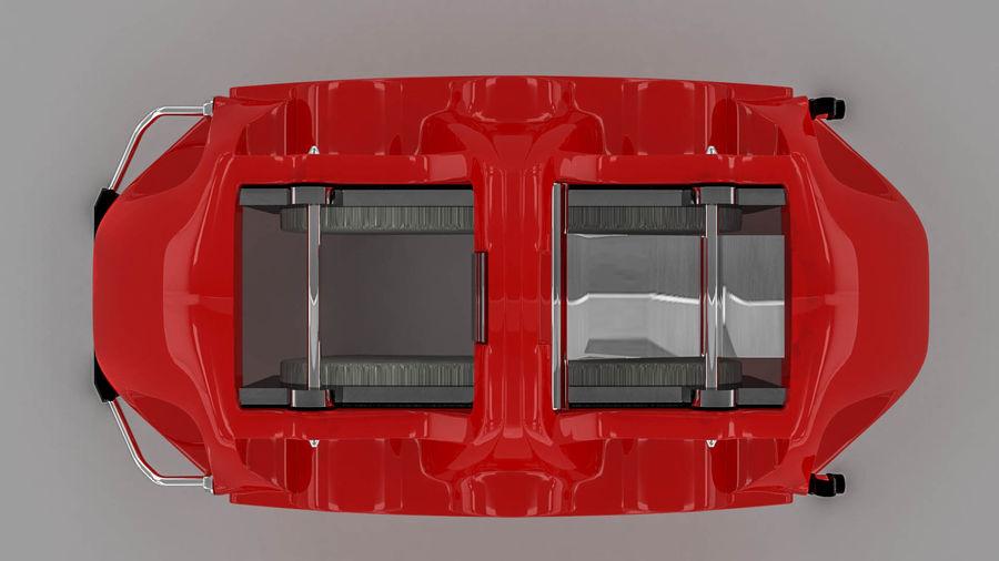 Brembo brake caliper royalty-free 3d model - Preview no. 13