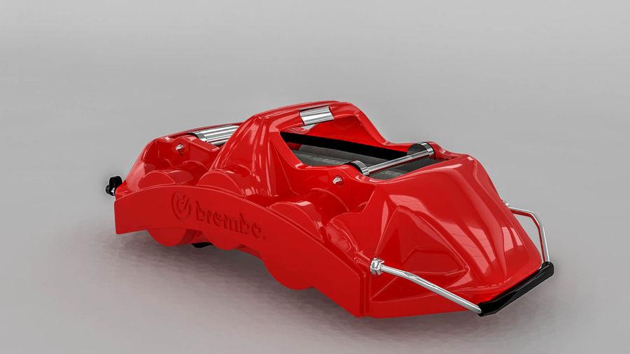 Brembo brake caliper royalty-free 3d model - Preview no. 1