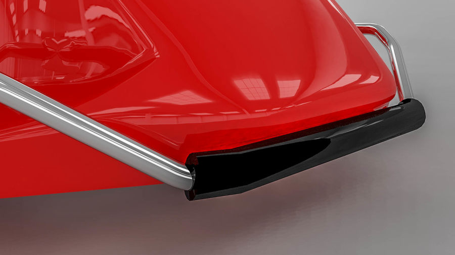 Brembo brake caliper royalty-free 3d model - Preview no. 8