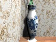 磁器の花瓶 3d model