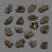 岩 3d model