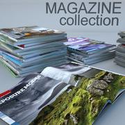 杂志 3d model