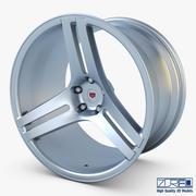 Vossen VPS-317 19 roue argent 3d model