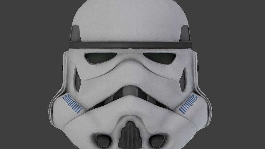 Casco Stormtrooper di Star Wars royalty-free 3d model - Preview no. 7