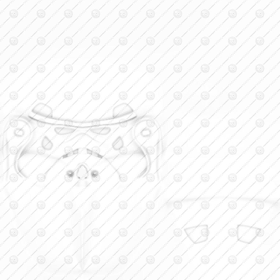 Casco Stormtrooper di Star Wars royalty-free 3d model - Preview no. 11