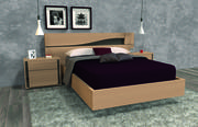 Bed omgeving 3d model