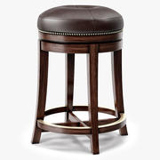 Theodore Alexander East India Stool 3d model