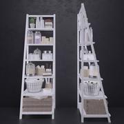 Badkamer opslag 3d model