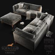 Sofa Realistisch 3d model