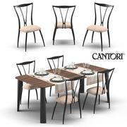 Cantori Milos et Vilma 3d model