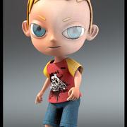 Мальчик Джо Персонаж 3d model