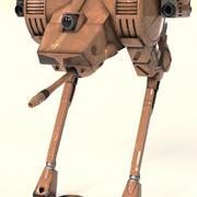 ostrich II 3d model