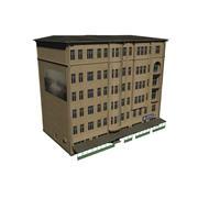 Gebäude / Geschäfte 3d model