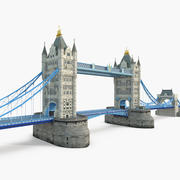 Tower Bridge London 3d model