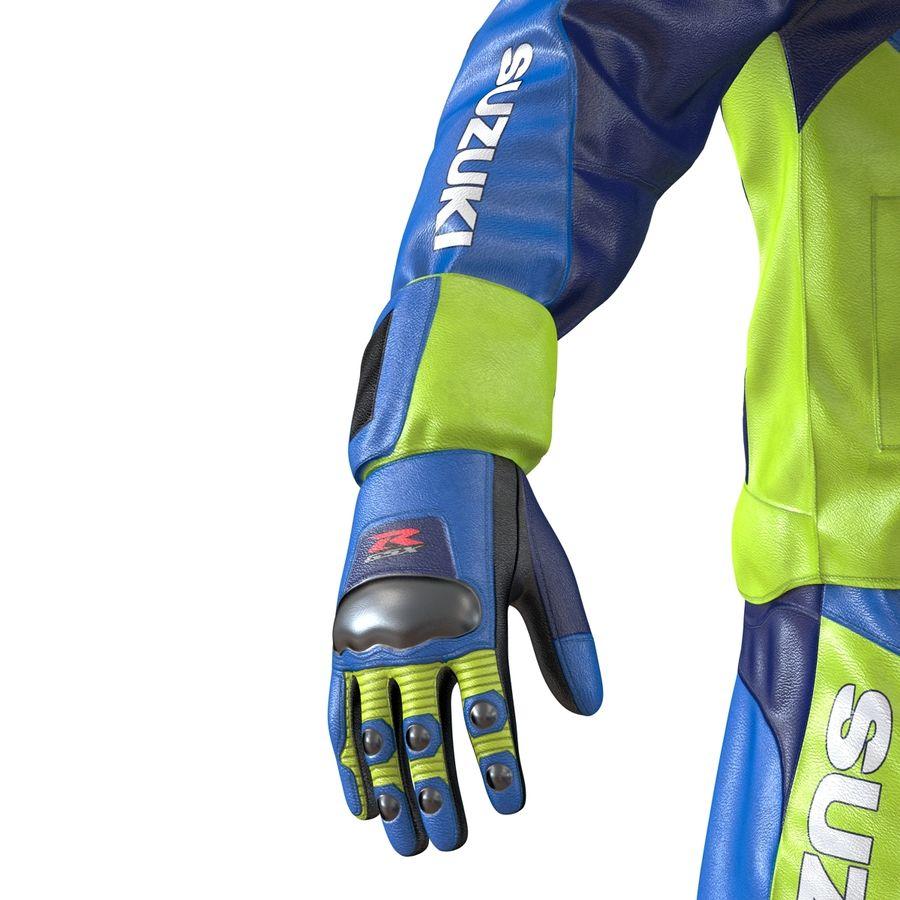 Cinema 4D için Donanımlı Motosiklet Sürücüsü royalty-free 3d model - Preview no. 37