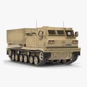 M270 MLRS Wüste 3d model