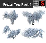 Frozen Tree Pack 4 3d model