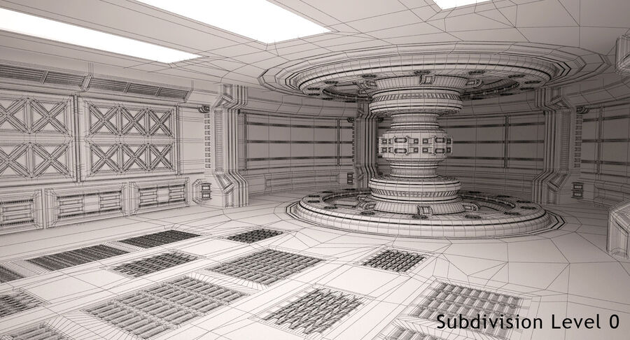 Energy Generator Room royalty-free 3d model - Preview no. 14