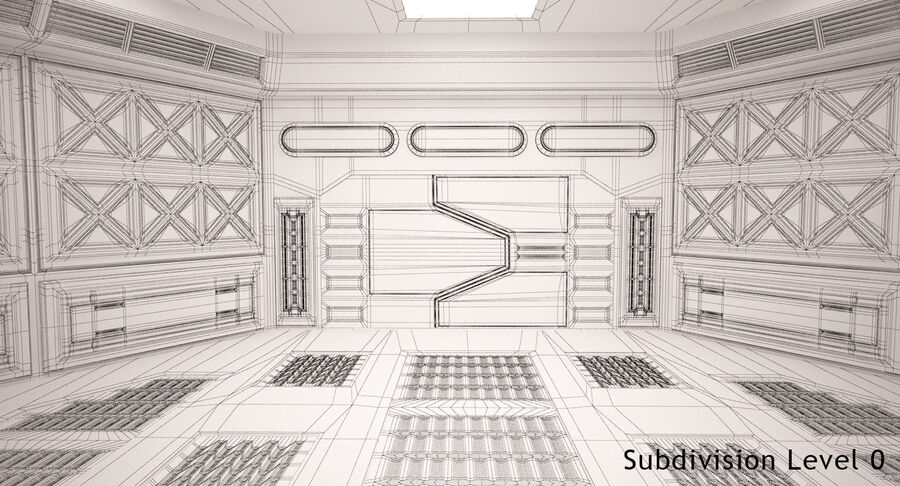 Energy Generator Room royalty-free 3d model - Preview no. 12