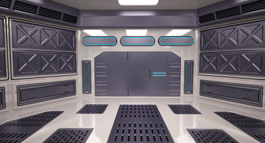 Energy Generator Room royalty-free 3d model - Preview no. 11