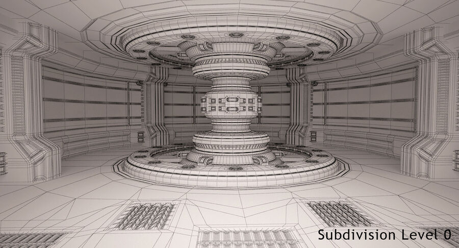 Energy Generator Room royalty-free 3d model - Preview no. 16