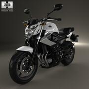 Yamaha XJ6 2009 3d model