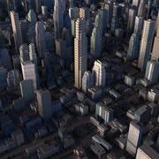 Cidade em Tempo Real 02 3d model