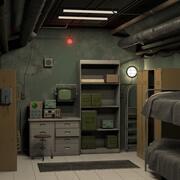 Zimmer im Bunker 3d model