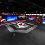 虚拟工作室新闻4 3d model