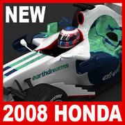 2008 Honda RA108 3d model