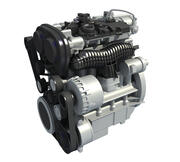 3D Car Engine 3d model
