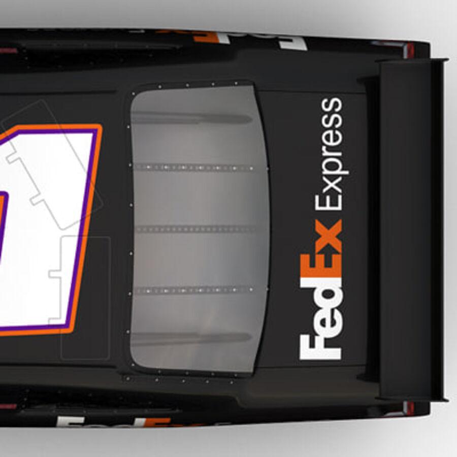 Nascar COT Stock Car - Denny Hamlin Camry royalty-free modelo 3d - Preview no. 16