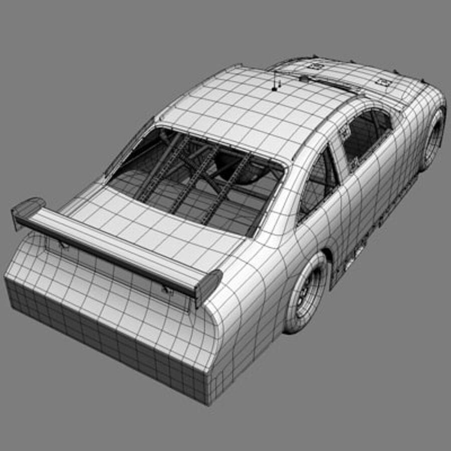 Nascar COT Stock Car - Denny Hamlin Camry royalty-free modelo 3d - Preview no. 20