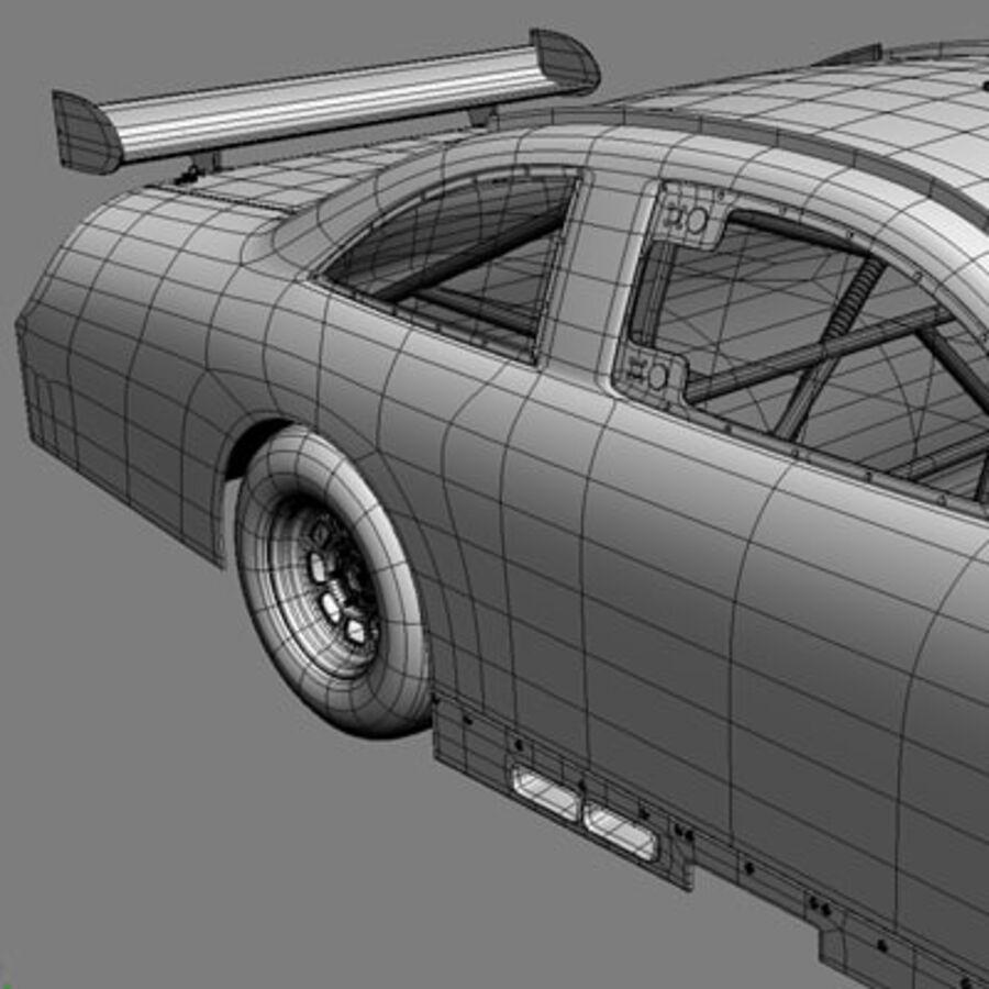 Nascar COT Stock Car - Denny Hamlin Camry royalty-free modelo 3d - Preview no. 19