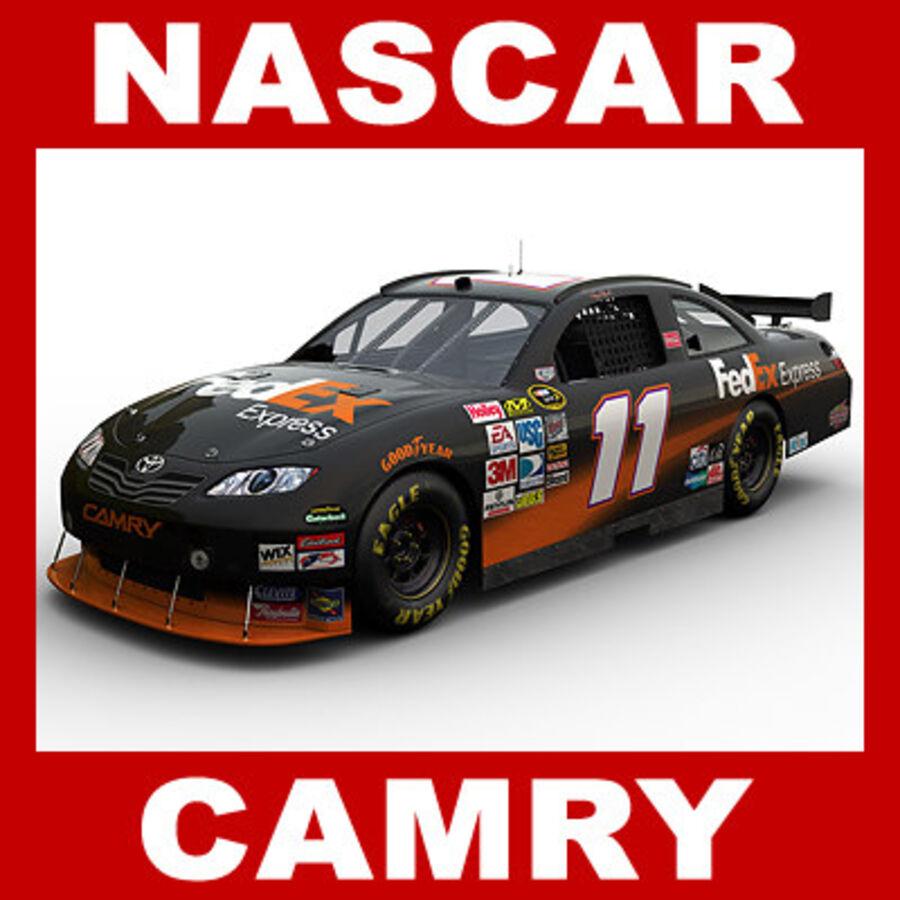Nascar COT Stock Car - Denny Hamlin Camry royalty-free modelo 3d - Preview no. 1