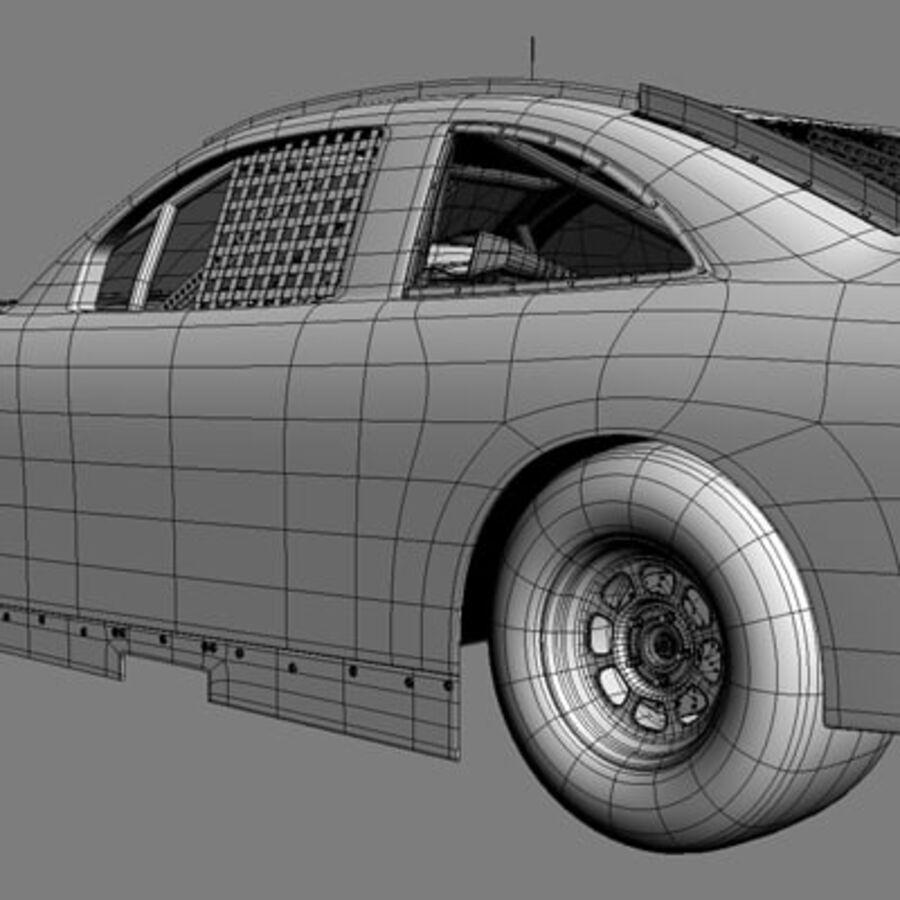 Nascar COT Stock Car - Denny Hamlin Camry royalty-free modelo 3d - Preview no. 21
